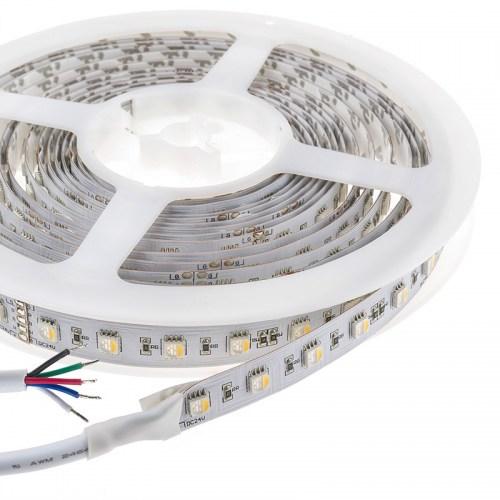 RGBW Super Bright  4 Colors in 1 Series DC12&24V 5050SMD 480LEDs Flexible  LED Strip Lights Waterproof Optional 16.4ft Per Reel By Sale